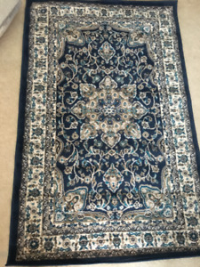 """Tremont Rug Navy / Ivory 8083 5A 3'3"""" x 5'2"""""""