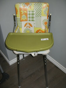 Retro Vintage toddler high chair