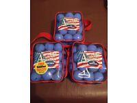 3 Brand New Packs of Golf Balls
