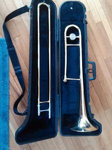 Bach trombone avec le cas