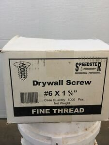 Gyproc drywall screws