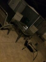 Patio set with 4 chairs need gone this weekend
