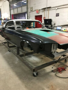1969 Ford Mustang Fastback body shell