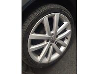 Golf gtd alloy wheels (Vancouver) 5x112
