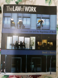 The law of work y David J. Doorey