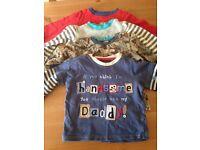 9-12 month baby boys clothes bundle