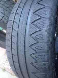 Set of 2 Michelin  winter tires 225//60/17
