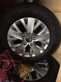 Volkswagen Transporter Alloy wheels