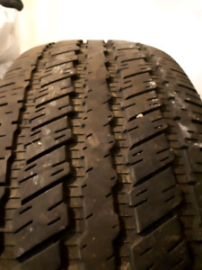 4 - 265/70/18 All Season Continental Tires