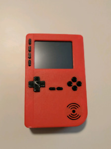 Custom handheld video game system