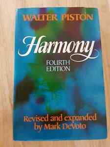 Keyboard and Harmony Text books.