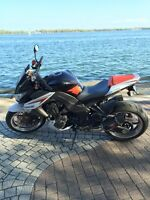 2013 Kawasaki Z1000 SE (special edition) with only 1000 km