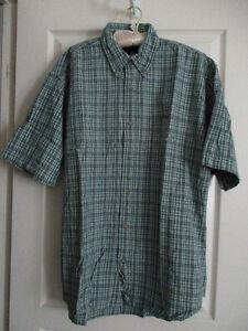 Men's short sleeve plaid shirts Oakville / Halton Region Toronto (GTA) image 2