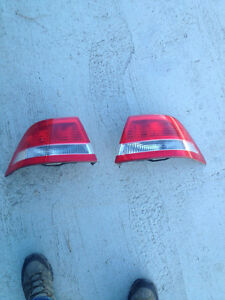 SAAB 9-3  03 - 07 Both Tail Light Stop Brake with bulb trays.