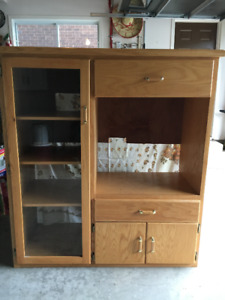 Custom Oak Entertainment Unit