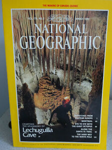 1990, 91 and 92 National Geographic books Cornwall Ontario image 5