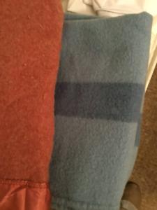 wool single blankets