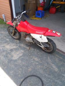 '00 Honda XR70 great first bike