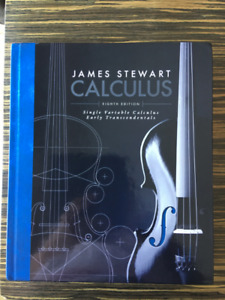 Calculus Eighth Edition Textbook for sale
