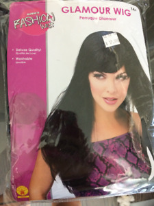 Brown long hair wig-  New in package