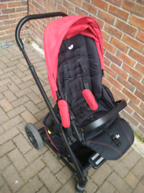 Joie Chrome Pram Travel System REDUCED