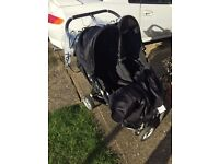City jogger double buggy