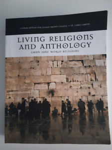 Living Religions and Anthology TEXTBOOK