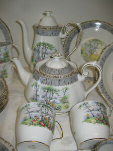 Silver Birch China -- FROM PAST TIMES Antiques - 1178 Albert St