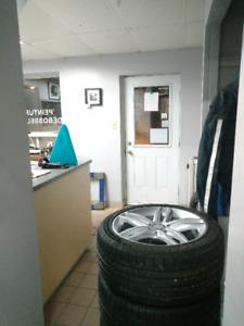 Atelier , garage , réparation de carrosserie