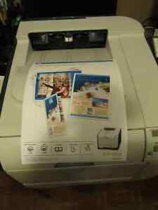 WOW!!! HP CP2025 PRO OFFICE PRINTER WITH ALL NEW OEM HP TONERS!!