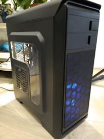 AMD Ryzen 2600 Build, Gaming / Workstation Desktop PC (Almost New)