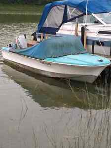14 foot boat and trailer