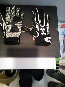 Boys cleats and gloves