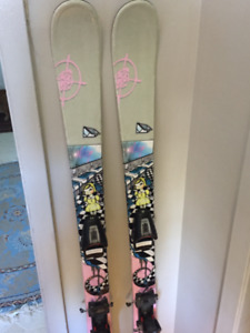 Kid's twin tip skis