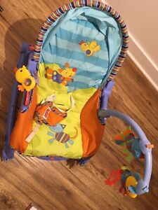 Fisher Price Newborn To Toddler Portable Rocker (Blue) Used West Island Greater Montréal image 4