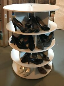 ONLY ONE LEFT!!! - Lazy Susan Rotating Shoe Shelf