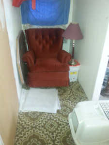 Free reclining chair