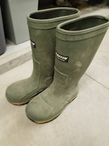 Baffin Ice Bear Rubber Boots (Size 9 mens)