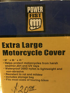 EXTRA LARGE MOTORCYCLE COVER