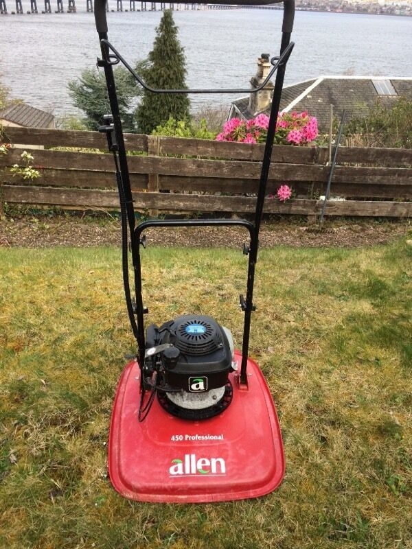 Allen 450 professional petrol hover mower | ebay.
