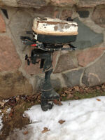 Outboard motor Vintage Ted Williams 4.5 HP