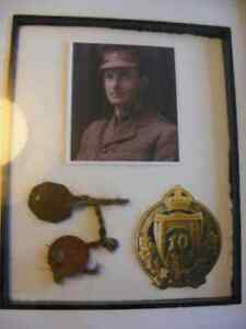 Authentic WW1 ID / Dog Tags - Chatham Connection