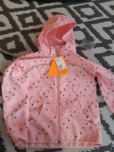 Brand New Water and Wind Resistant Size 8-10 girls Jacket