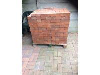 Brand new hand made bricks