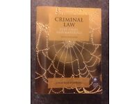 Criminal Law: text, cases and materials