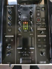 Pioneer DJM-350 2-channel DJ mixer black