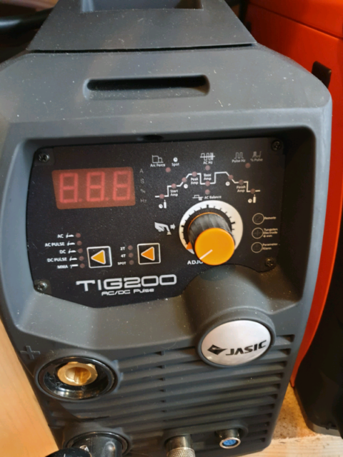Jasic 200p mini AC DC tig welder with pedal and CK torch | in  Littleborough, Manchester | Gumtree