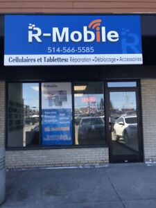 Réparer cellulaire iPhone Samsung LG Blackberry Sony repair