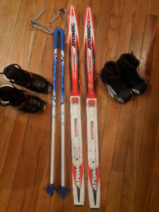 Kids X-Country Ski Package