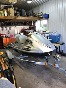 Yamaha Waverunner Vx Cruiser 3 places + Remorquage et Acc.